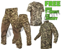 Planet Eclipse Elite Pants w/ FREE CR Jersey & T-Shirt - HDE Camo