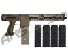 Planet Eclipse EMEK MF100 (PAL Enabled) Mag Fed Paintball Gun - Black w/ 4 Additional (20 Round) Magazines - HDE Earth