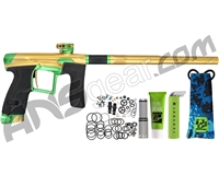 Planet Eclipse Geo 4 Paintball Gun - Gold/Green