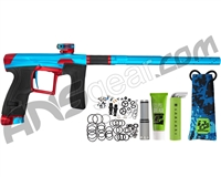 Planet Eclipse Geo 4 Paintball Gun - Teal/Red