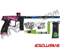 Planet Eclipse Geo CS1 Paintball Gun - Polished Acid Wash Cotton Candy Fade
