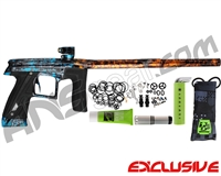 Planet Eclipse Geo CS1 Paintball Gun - Polished Acid Wash Dolphin Orange Fade