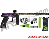Planet Eclipse Geo CS1 Paintball Gun - Polished Acid Wash Joker Fade