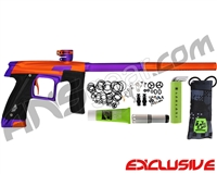 Planet Eclipse Geo CS1 Paintball Gun - Orange/Purple