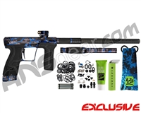 Planet Eclipse Geo CS2 Paintball Gun - Acid Wash Sapphire