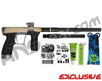 Planet Eclipse Geo CS2 Paintball Gun - Laser Engraved Maui - Brown/Black