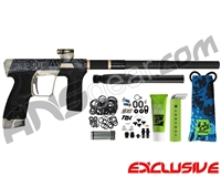 Planet Eclipse Geo CS2 Paintball Gun - Laser Engraved Mayan - Black/Gold