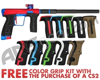 Planet Eclipse Geo CS2 Paintball Gun - Red/Blue3