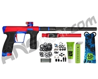Planet Eclipse Geo CS2 Paintball Gun - Red/Electric Blue