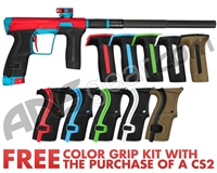 Planet Eclipse Geo CS2 Paintball Gun - Red/Turquoise