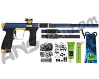 Planet Eclipse Geo CS2 PRO Paintball Gun - Navy/Gold