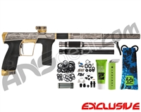 Planet Eclipse Geo CS2 PRO Paintball Gun w/ The Works Engraving - Sand Storm