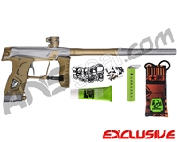 Planet Eclipse Gtek 160R Paintball Gun - Grey/Tan