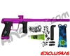 Planet Eclipse Gtek 170R Paintball Gun - Electric Purple/Electric Purple