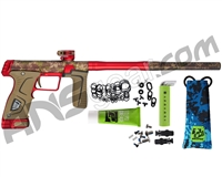"Planet Eclipse Gtek M170R ""Mechanical"" Paintball Gun - HDE/Red"