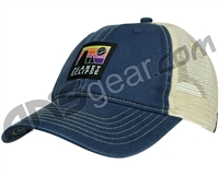 Planet Eclipse Horizon Snap Back Hat - Navy/Ivory