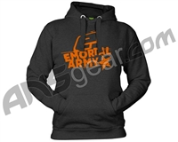 Planet Eclipse Emortal Army Hooded Sweatshirt - Charcoal