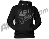 Planet Eclipse Stamp Hooded Sweatshirt - Black