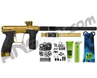 Planet Eclipse Infamous Geo CS2 Paintball Gun - Gold/Gold