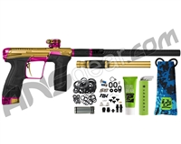 Planet Eclipse Infamous Geo CS2 Paintball Gun - Gold/Pink