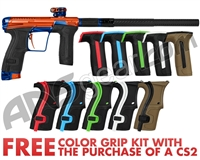 Planet Eclipse Infamous Geo CS2 Paintball Gun - Orange/Blue