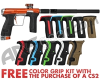 Planet Eclipse Infamous Geo CS2 Paintball Gun - Orange/Silver