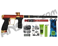 Planet Eclipse Infamous Geo CS2 Paintball Gun - Red/Gold