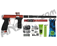 Planet Eclipse Infamous Geo CS2 Paintball Gun - Red/Silver