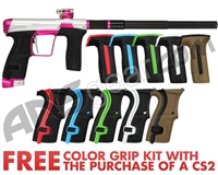 Planet Eclipse Infamous Geo CS2 Paintball Gun - Silver/Pink