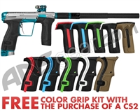 Planet Eclipse Infamous Geo CS2 Paintball Gun - Silver/Teal