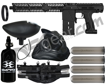 Planet Eclipse EMEK MG100 (PAL Enabled) Mag Fed Legendary Paintball Gun Package Kit
