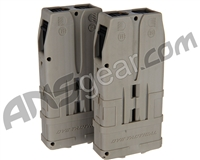 Planet Eclipse EMEK MG100 10 Round Magazine By Dye - 2 Pack - Dark Earth