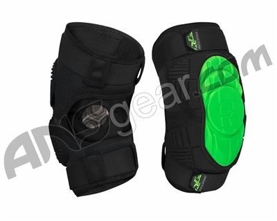 Planet Eclipse Overload HD Core Knee Pads - Black/Green