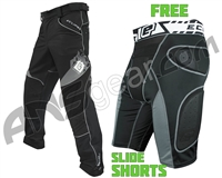 Planet Eclipse Program Pants w/ Slide Shorts Black