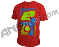 Planet Eclipse 91 Men's T-Shirt - Red
