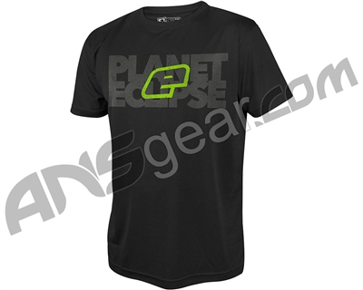 Planet Eclipse Blok Pro-Formance T-Shirt - Black