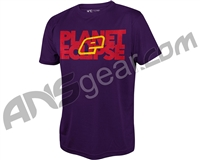 Planet Eclipse Blok Pro-Formance T-Shirt - Purple