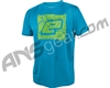Planet Eclipse Pro-Formance Men's Breaker T-Shirt - Cyan