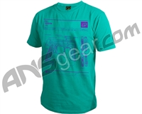 Planet Eclipse CS1 Men's T-Shirt - Teal