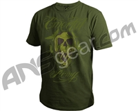 Planet Eclipse Emortal Men's T-Shirt - Olive