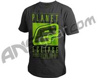 Planet Eclipse Fade Men's T-Shirt - Dark Marl