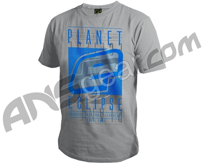 Planet Eclipse Fade Men's T-Shirt - Light Marl