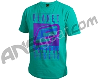 Planet Eclipse Fade Men's T-Shirt - Teal