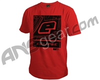 Planet Eclipse Icon Men's T-Shirt - Red