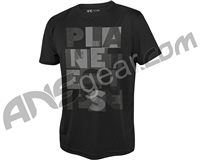 Planet Eclipse Lanes Pro-Formance T-Shirt - Black