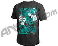 Planet Eclipse Vibe Men's T-Shirt - Dark Marl