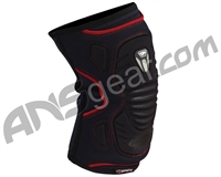 Proto 2010 Defender Paintball Knee Pads - Black/Red