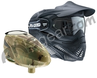 Proto Switch FS Paintball Mask w/ DyeCam Rotor Loader