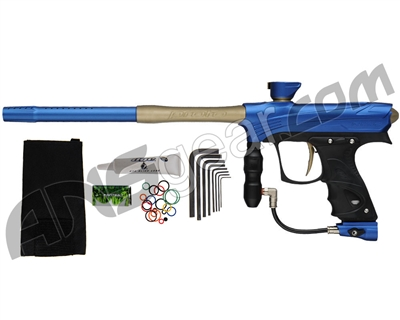 Proto Maxxed Rize Paintball Gun - Blue/Tan