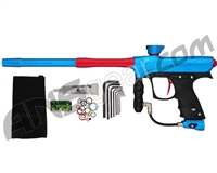 Proto Maxxed Rize Paintball Gun - Cyan/Red